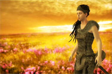 Hellblade - Meadow by jagged66