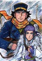 GOLDEN KAMUY by Djiguito