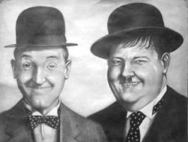 Laurel and Hardy by casey62