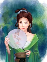 The Girl of Tang Dynasty by xiuyuan