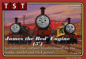 Five James Pack RETIRED RELEASE by thejonateers