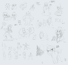 Art Stream 6 Sketch Collection by baratus93