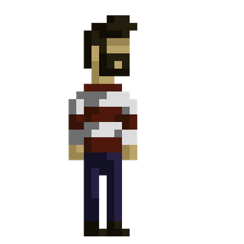 first pixel character by adash5000