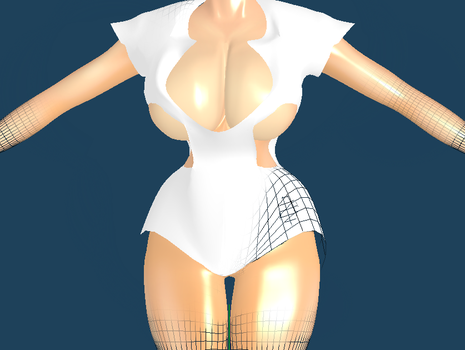 [MMD Commission] Zataria Wip 2 by TempestMedallion