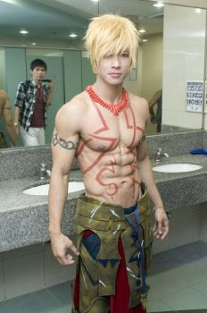 Gilgamesh fate stay night by surberus666