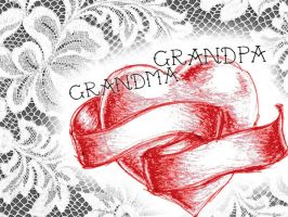 Tattoo Design: Traditional Heart and Banner by GAME-OVER-CUSTOM