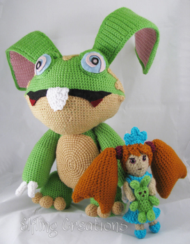 Zoe And Mr Lobster Monster Tale Plushies by merigreenleaf