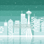 Minty Seattle by GirlWithTheGreenHat