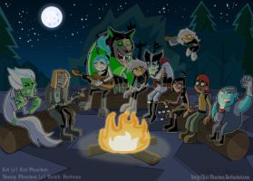 DP-Summer Campfire by Kat-Phantom