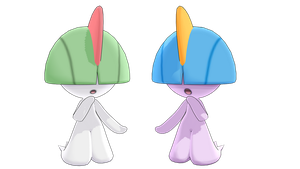 MMD PK Ralts DL by 2234083174
