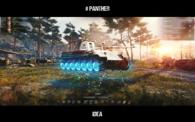 #panther by dimadiz