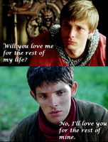 Love of my life - Merthur by FreakyFangirl97