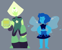Crystal Gem Newcomers? by CosmicDiamond