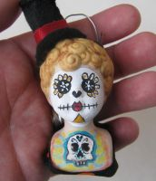 day of the dead clown by mealymonsterland