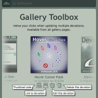 Gallery Toolbox by BoffinbraiN