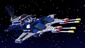 LEGO 6980 Galaxy Commander by zpaolo
