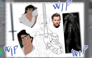 Disney knight - wip by CristianoReina