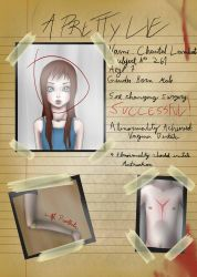 A Pretty Lie - Chantal's File. by AndroMind