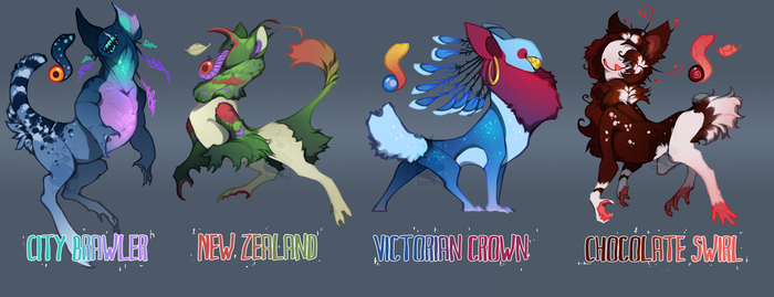 Cccats Guest auction - Pigeon squad (CLOSED!) by Oxxidian