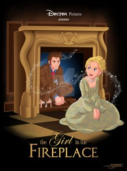 The Girl In The Fireplace by angelsaquero