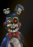 Withered toy bonnie v.2 by Carlosparty19