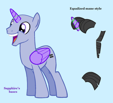 mlp base : we are equals and soon you'll be by SapphireScarletta