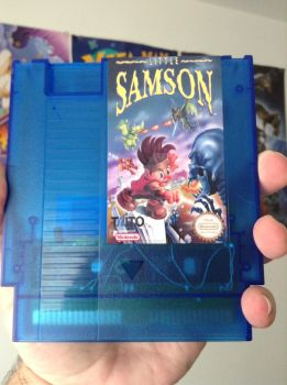 Little Samson repro with translucent blue shell by Scorching-Whirlwind