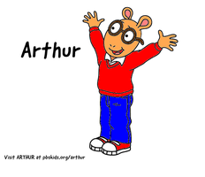 Arthur Read in Red Sweater by WillM3luvTrains