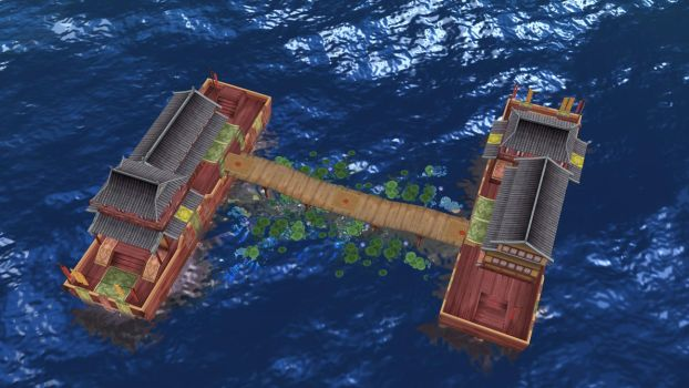 China Boat Stage by daucongluyen