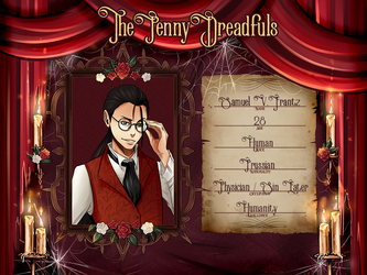 [ThePennyDreadfuls] Samuel V. Frantz by ScribblingStarling
