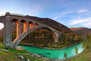 Solkan bridge - Dream bridge by eriksimonic