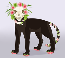 Skull Cat Auction! closed by Sadbloom