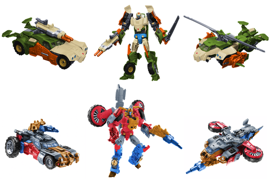Crossblades and Skyhammer Digibash by Air-Hammer