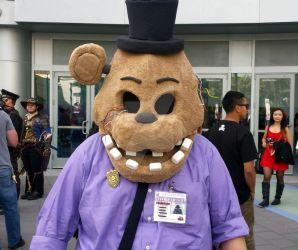 Five Nights at Freddy's cosplay by Bobafett176