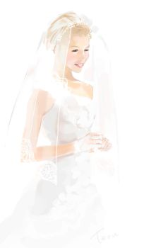 white wedding by Teruchan