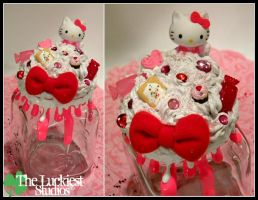 Hello Kitty Decoden Jar by Louness26