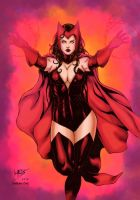 Scarlet Witch Colours by CrisstianoCruz