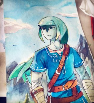 Link Zora form (commission)  by Wallach1