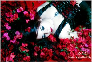 Dream in scarlet by Gloria-T-Dauden