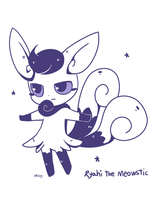 Ryahi the Meowstic by Melky9714
