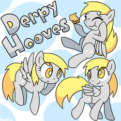 Derpy Hooves by kemofoo