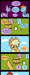 Actual Size (MLP Comic) by NoIDAvaliable