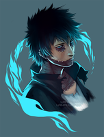My Hero Academia - Dabi by Lanaluu