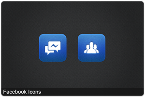 Facebook Icons by FG-Paradiize