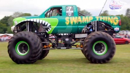 Monster Truck 10 - Swamp Thing by gopherboy76