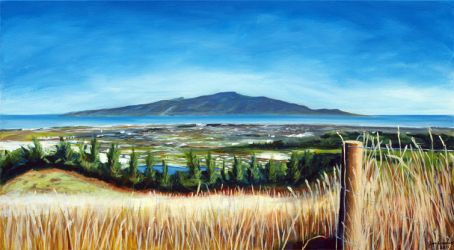 Kapiti Island View by karlandrews