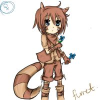 Pokemon- Human furret :D by narutofox26