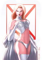 Emma Frost by sorah-suhng