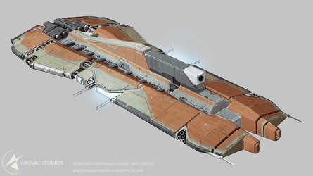 SFC - Capital ship concept. by Tinnenmannetje