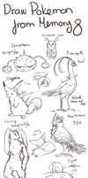 Draw Pokemon From Memory 8